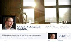 Sanahaltuun.fi  Puhetaidon kouluttaja Antti Mustakallion blogi