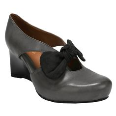 Earthies® Bristol Bowed Wedge #VonMaur #Earthies #Shoes #Wedge