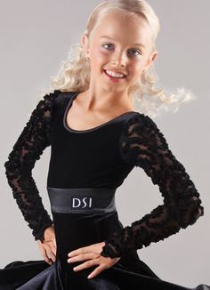 DSI Esme Juvenile Ballroom Dance Leorard 1097J| Dancesport Fashion @ DanceShopper.com