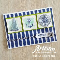 Come Sail Away Suite from Stampin Up!