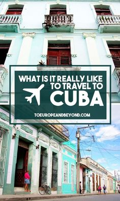 Cuba is a land of contradictions; and yet, it continues to draw millions of vacationers every year. What is really like to travel to Cuba? http://toeuropeandbeyond.com/what-is-it-really-like-to-travel-to-cuba/ #travel #Cuba