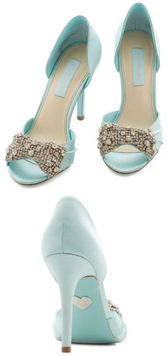 Betsey Johnson Dancing Gleam Heel - love these for so many reasons