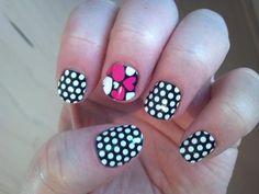 Jamberry Nail Wraps... order today   ## jamberry nails nail art fashion holiday design manicure pedicure nail polish feet toes fingers acrylic nails hearts black white polka dot