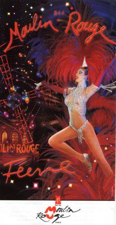 Affiche. Moulin Rouge.