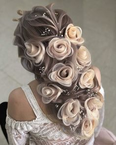 Fancy Hairstyles, Down Hairstyles, Braided Hairstyles, Wedding Hairstyles, Pretty Hair Color, Wedding Hair Inspiration, Fantasy Hair, Hair Art, Hair Videos