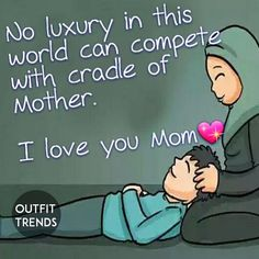 50 Islamic Quotes on Mother Shows Status of Women in Islam Love My Parents Quotes, Mom And Dad Quotes, I Love My Parents, Mother Daughter Quotes, I Love You Mom, Mothers Day Quotes, Dad Daughter, Family Quotes, Husband