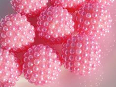 20MM Chunky Pink Berry Beads, bubble gum chunky beads, Loose Beads. Bulk Fashion DIY Jewelry Beads by SofiasCottage on Etsy