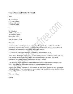 Help me write a mature goodbye/break up letter?