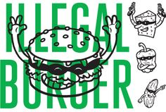 Identity for Oslos newest and finest burger joint. Have a taste.