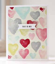 Valentine's Day Love Cards My Funny Valentine, Valentine Day Love, Valentine Day Cards, Valentines Diy, Tags Ideas, Paper Smooches, Heart Crafts, Valentine's Day Diy, Love Cards