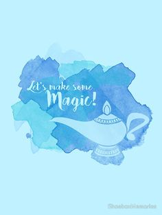 Genie Lamp - Magic Quote