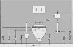 Ideas For Bathroom Layout Dimensions Floor Plans Wc Bathroom, Bathroom Floor Plans, Bathroom Layout, Bathroom Flooring, Bathroom Interior, Small Bathroom, Bathroom Furniture, Bathroom Dimensions, Toilet Design