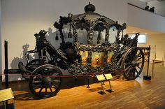 Carriage Museum in Schönbrunn - The Mourning-Homage Carriage