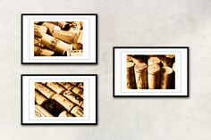 Took these same kind of pics myself for dining room wall art using my own saved wine corks. All for under $8!