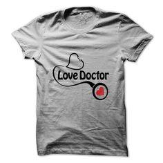 (Tshirt Cool Order) I Love Doctor t shirt Top Shirt design Hoodies Tee Shirts