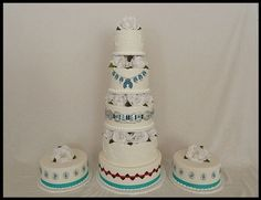 Awesome native American / southwestern cakes!!