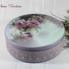 Decoupage Furniture, Decoupage Box, Cigar Boxes, Painted Boxes, Country Decor, Upcycle, Stencils, Projects To Try, Decorative Boxes