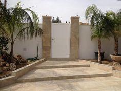 #Renovación de EXTERIORES en Chalet en Villafranqueza. #Fachada. (Vista Final).