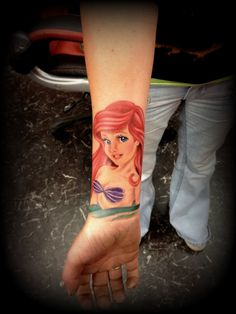 The little mermaid tattoo