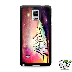 Arctic Monkeys Galaxy Nebula Samsung Galaxy Note 4 Case