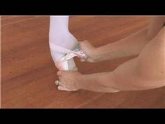 How to Break In Pointe Shoes - Breaking in new pointe shoes is important to make them easier to dance in, and they can be bent, molded, massaged and even scraped to get the proper flexibility and traction. Find out how to safely break new a brand new pair of shoes with helpful instruction from a ballet and pointe teacher.