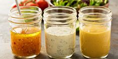 These 6 Basic Salad Dressing Recipes Are Ready in a Snap – Incredible Recipes Gluten Free Salad Dressing, Oil Free Salad Dressing, Salad Dressing Recipes, Ranch Dressing, Tahini Dressing, Substitute For Rice Vinegar, Curry Coco, Superfood Salad, Incredible Recipes