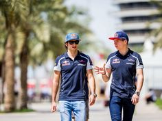 Max Verstappen, Carlos Sainz, track action, garage, team, pitlane... enjoy the best shots from our Formula 1 2016 Bahrain Grand Prix.  Full Gallery on http://win.gs/1SM3j8N.  Wallpaper download section on http://win.gs/1ZYW0NS.  #F1 #tororosso #verstappen #sainz #redbull #BahrainGP