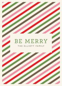 REVEL: Twisted Peppermint Holiday Card