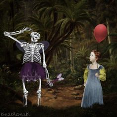 Gorilla skeleton fairy gif