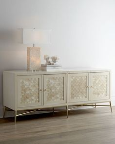 Shop for your home decor like this gorgeous buffet from Neiman Marcus on Keep!