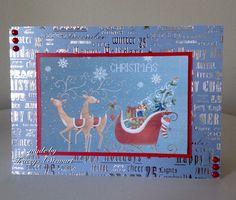 Crafter's Companion Nordic Christmas Cd and Hunkydory foiled card