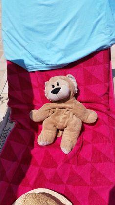 Cyprus Sunbathing Cuddly Cyprus Holiday, Teddy Bear, Toys, Animals, Activity Toys, Animales, Animaux, Clearance Toys, Teddy Bears