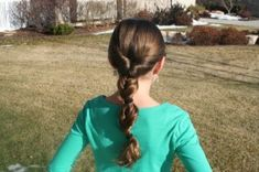 Triple Flip Ponytail from Cute Girls Hairstyles