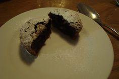 Warm chocoladecakeje