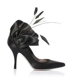 Cocktail shoes by French shoe company Vouelle