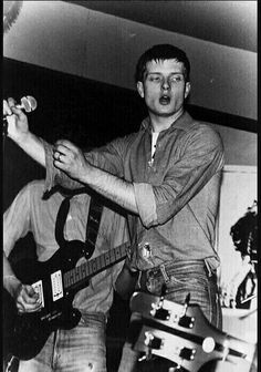 new unseen photo of ian curtis. - jana f. Joy Division, New Wave Music, Music Love, Rock Music, Radio Times Magazine, Ian Curtis, Pop Rock, Rock Legends, Post Punk