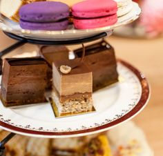 Chocolate High Tea Party for five people at Gânache Chocolate in South Yarra, Melbourne.