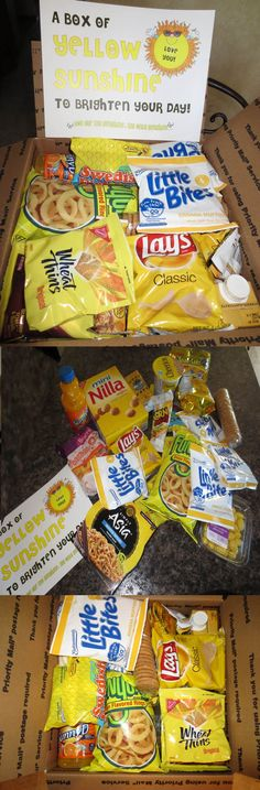 Care Package...Yellow