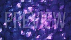 Purple Polygonal Looping Background