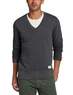 Aviator Men's V-Neck Sweatshirt « Clothing Impulse