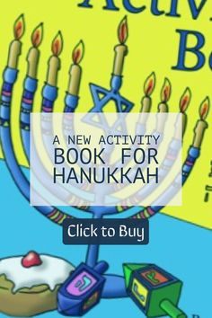 This Hanukkah activity book is what you were looking for! a fun way to get familiar with the symbols of the holiday. You will find a variety of educational activities for the whole family that provides hours of pure fun. The book contains more than 50 activity pages of original art work.