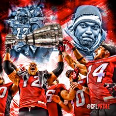TBT The Rock on the Calgary Stampeders football team ...