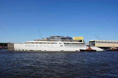 Project Azzam Yacht - New largest Yacht in the world