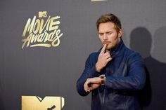 Pin for Later: Chris Pratt Drops By the MTV Movie Awards in All His Handsome Glory