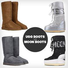 Sind MOON BOOTS die neuen UGG BOOTS? Was sind eure Lieblinge? Wir wollen es wissen! #boots #uggboots #moonboots