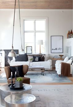 A SWEDISH HOME IN A RENOVATED SCHOOL BUILDING | the style files