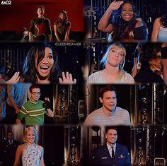 Glee cast.