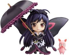 Accel World Kuroyukihime Nendoroid Action Figure Good Smile Company from Japan