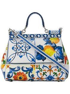 3d5798e6c91d Sicilian tile shoulder bag Dolce & Gabbana, Diaper Bag, Sicilian, Shoulder  Bag,