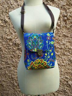 10$ Tribal Tropical Shoulder Toiletry Bag Cross by TribalSpiritShop